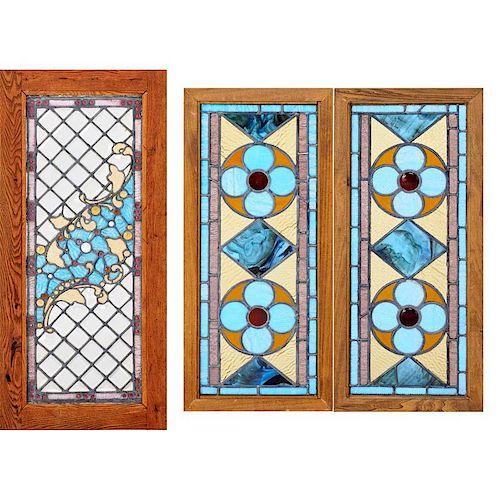 ARTS & CRAFTS Three windows