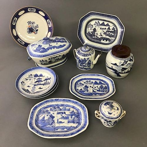 Grouping of Canton Porcelain