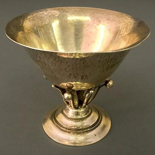 Georg Jenson Sterling Silver Footed Bowl