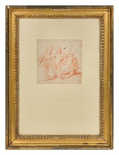 * Artist Unknown, (Continental School, 17th/18th Century), Three Putti