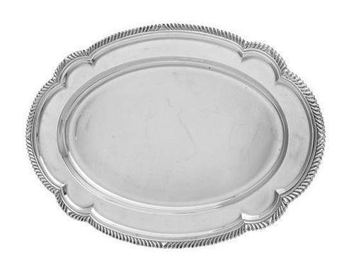 * An American Silver Serving Platter