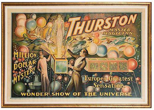 Thurston Master Magician. Million Dollar Mystery.