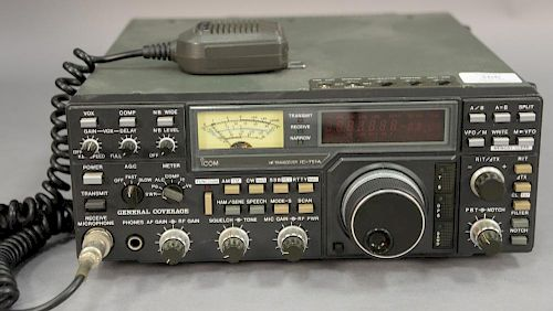 IcomIC-751A HF Transceiver radio  by Nadeau's Auction Gallery