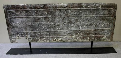 Early Lead Architectural Frieze or Panel.