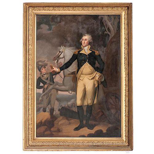 George Washington at Trenton, New Jersey After John Trumbull