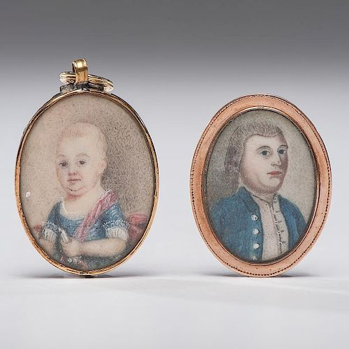 Portrait Miniatures, Ruggles Family