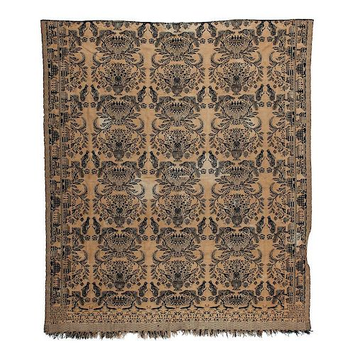 Abram Allen Ohio Coverlet