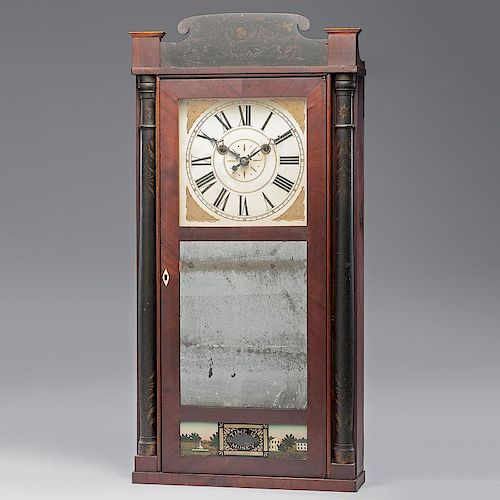 <i>Silas Hoadley</i> Shelf Clock