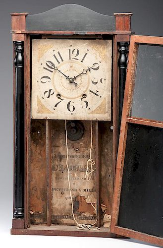 <i>Pettibone & Mills</i> Shelf Clock
