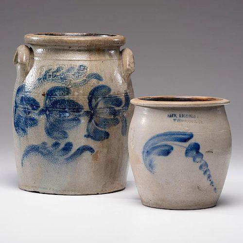 Pennsylvania Stoneware Crocks