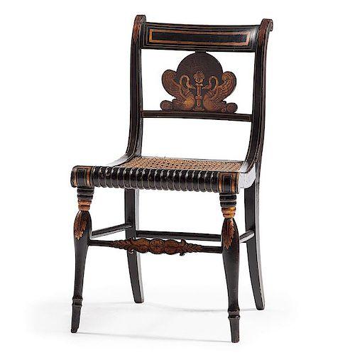Philadelphia Empire Painted Fancy Chair