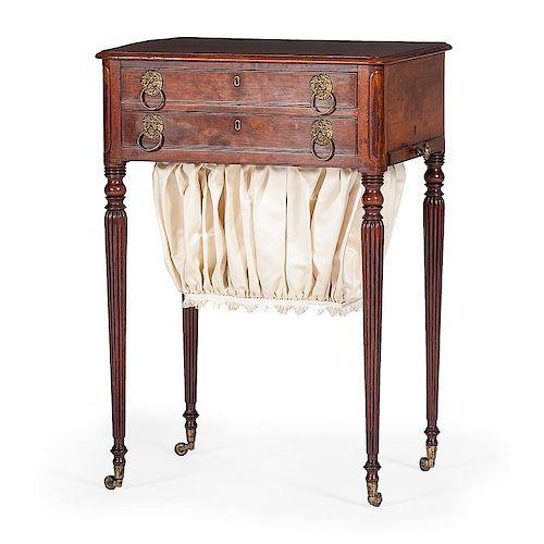 A Fine Thomas Seymour Sheraton Sewing Table