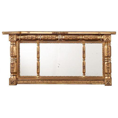 Classical Overmantel Mirror