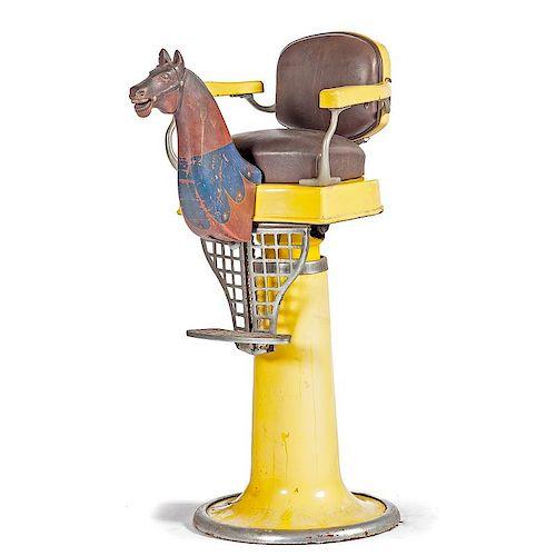 <i>Emil J. Paidar</i> Child's Barber Chair