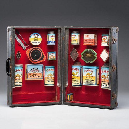 Salesman's Sample Kit for <i>Camel</i> Tire Accessories