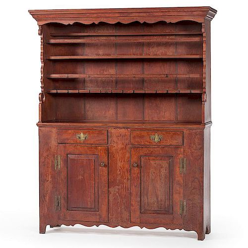 David T. Smith Pewter Cupboard