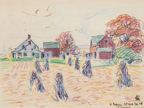 OSCAR BLUEMNER (AMERICAN 1867-1938)