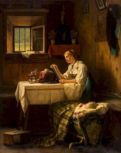 AUGUST MULLER (GERMAN 1836-1885)
