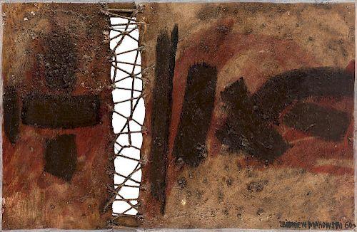 ZBIGNIEW MAKOWSKI (POLISH B. 1930) ... GS: AN EXCEPTIONAL WORK OF MODERN BOOK ART BY ZBIGNIEW MAKOWSKI, 1960