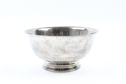 * An American Silver Revere Bowl, International
