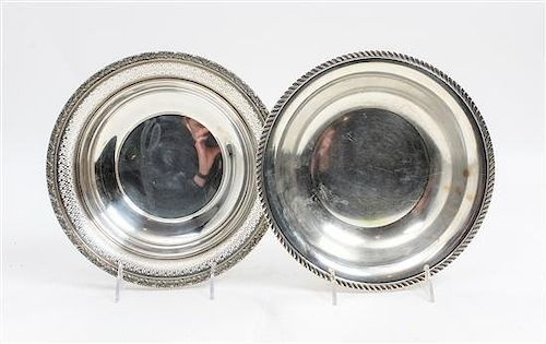 * Two American Silver Bowls, Alvin Mfg. Co., Providence, RI and Preisner Silver Co., Wallingford, CT, the Alvin example with