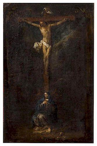 * European School, (18th century), The Crucifixion