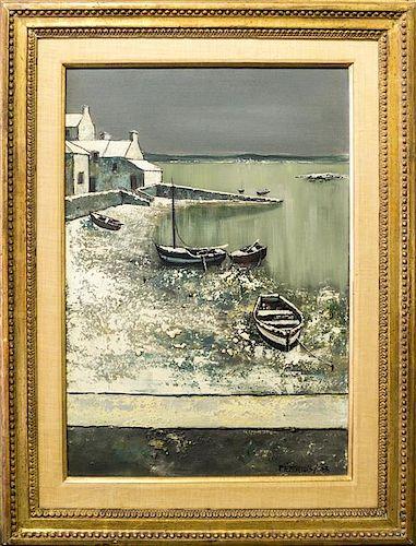 Artist Unknown, (20th century), Winter Harbor, 1963