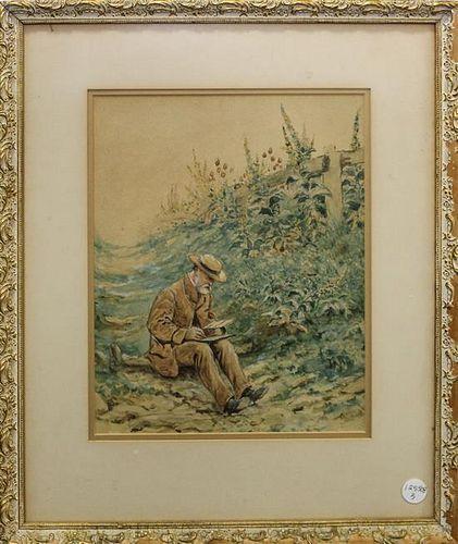 Artist Unknown, (20th century), Portrait of an Artist
