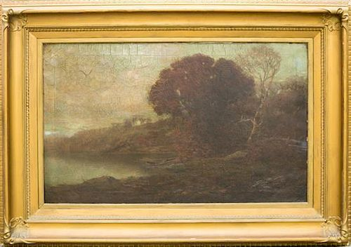 * Artist Unknown, (Continental School, 19th century), Landscape