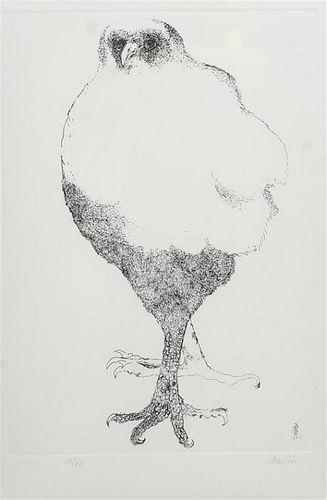 * Leonard Baskin, (American, 1922-2000), Untitled, 1966