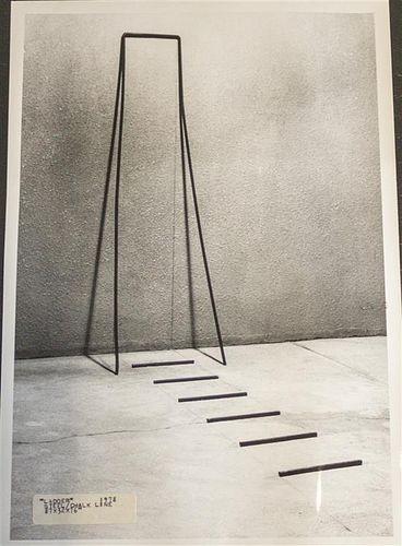 * John Van Alstine, (American, b. 1952), Gallery Ladder, 1978