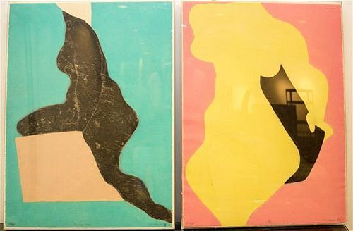 * Artist Unknown, (20th century), Four Figures (4 works)