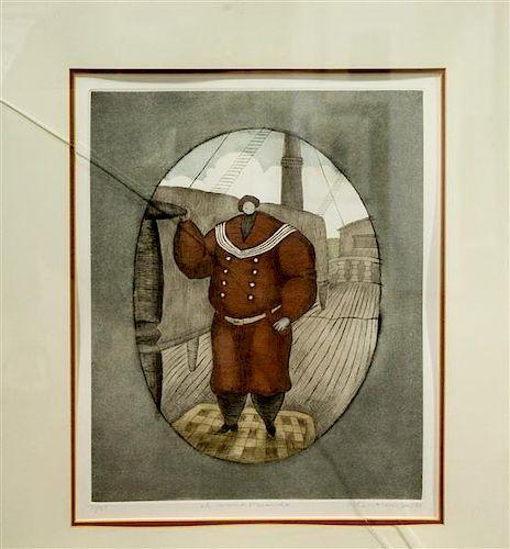 Antonio Lopez Saenz, (Mexican, b. 1937), El nino Rolando, 1980