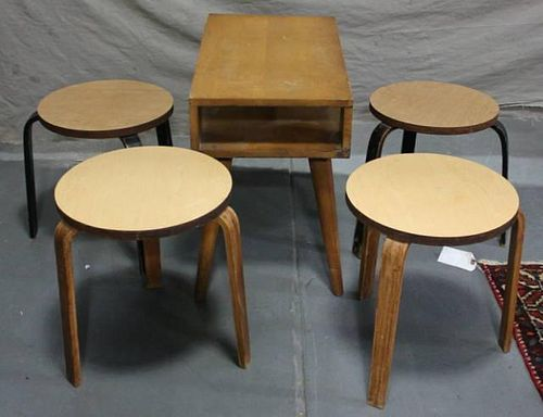 Midcentury Russel Wright for Conant Ball End Table