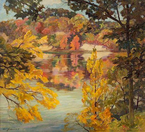 Carl Hoerman, (American, 1885-1955), Untitled