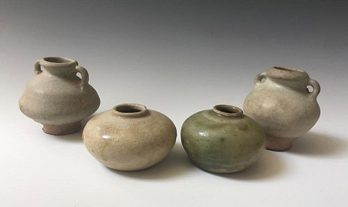 FOUR OF CHINESE ANTIQUE POT