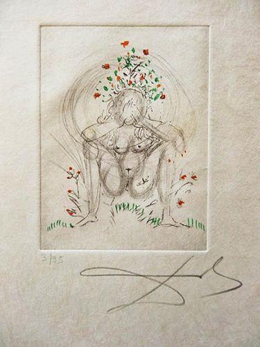 """Dali, Salvador,   Spanish (1904-1989), """"Petits Nus d' Apollinaire"""","""