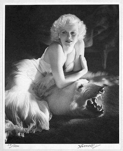"""Hurrell, George,  American 1904-1992, """"portfolio I"""" complete set of 10 important movie star photos by the photographer,"""
