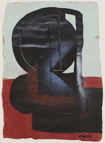 Kijno, Ladislas,  Polish/French 1921-1912,(Untitled),