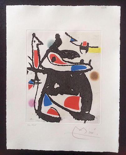 """Miro, Joan,   Spanish 1893 - 1983,""""Le Marteau sans Maitre (The Hammer Without Master),D-946; C-216"""