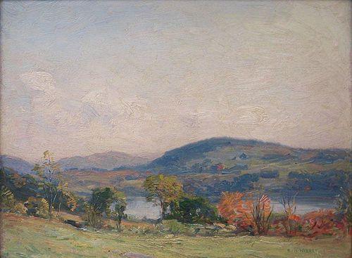 """Nisbet, Robert Hogg,   American, 1879 - 1961, """"September Afternoon"""" ,"""