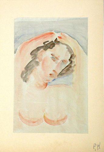 Krasnow, Peter,  American 1887-1979,(Untitled),