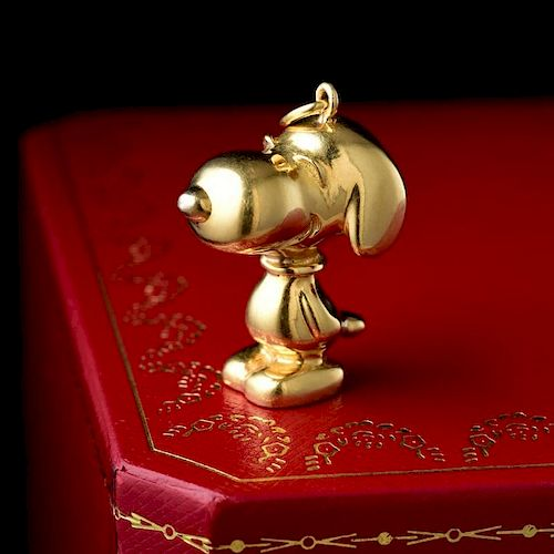 2fda52ee8 Cartier Gold Snoopy Pendant by Fortuna Auction - 924757 | Bidsquare