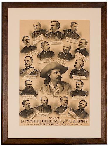 Some of the Famous Generals of the U.S. Army.