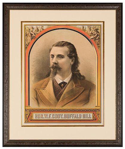 Hon. W.F. Cody. Buffalo Bill.