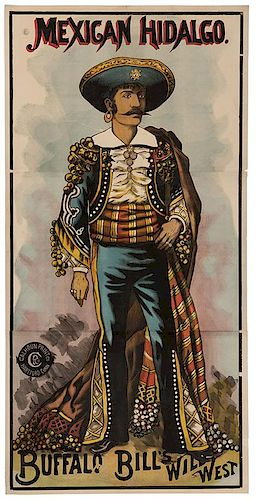 Buffalo Bill's Wild West. Mexican Hidalgo.