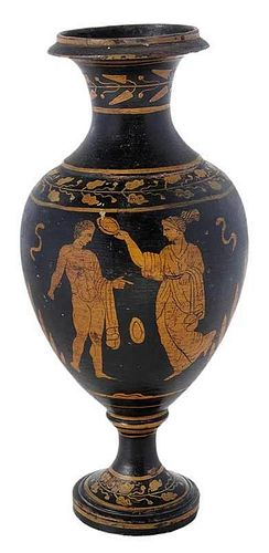Greek Vase with Figures