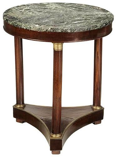 Empire Style Bronze Mounted Table