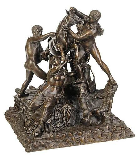 Large Grand Tour Figural Group