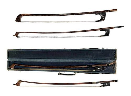 Four Bass Bows